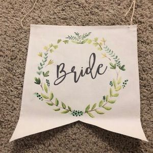 Other - Bride and Groom signs
